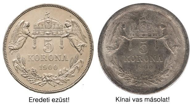 http://www.koronaportal.hu/hirek/1900-as-5-korona-reces-peremu-vas-masolata-kinabol-copy-replika-hamis/1900-as-5-korona-reces-peremu-vas-masolata-kinabol-copy-replika-hamis_osszehasonlitas.jpg